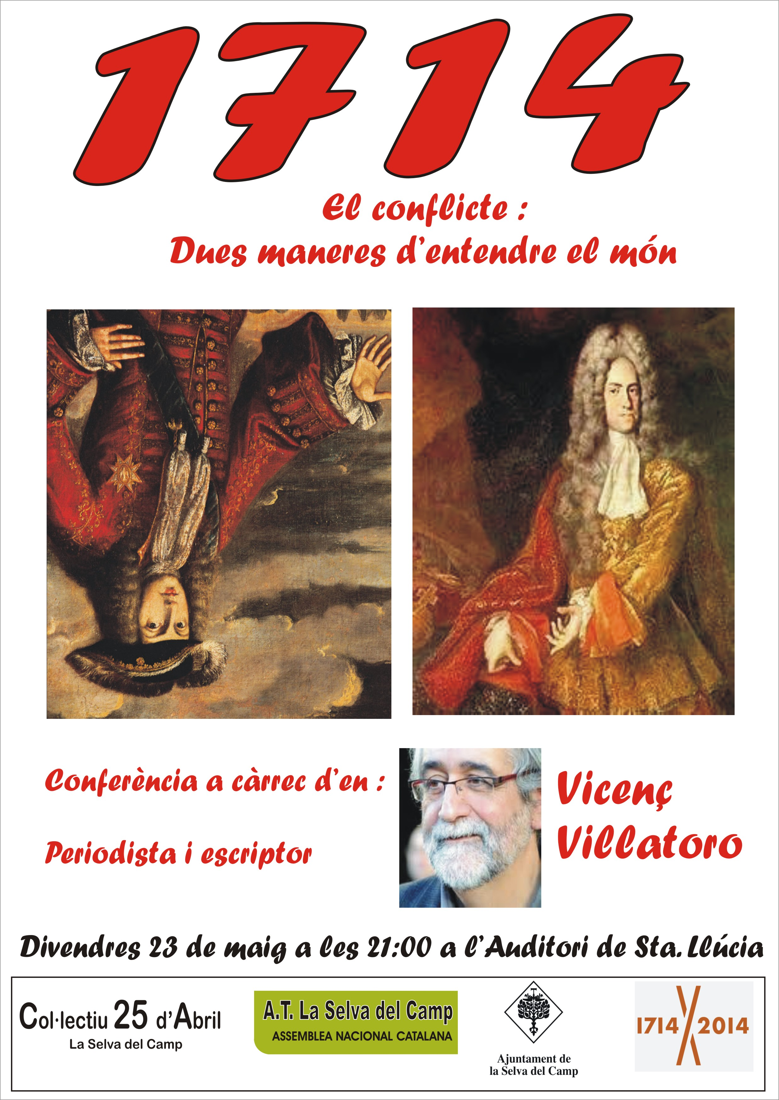 Conferència Vicenç Villatoro
